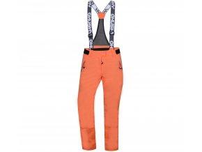 Husky Dámské lyžařské kalhoty  Goilt L tlumená oranžová
