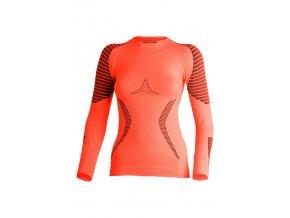 Lasting RELA 2190 oranžové termo bezešvé triko