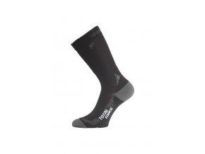 Lasting ITF 900 černá Středně dlouhá inlinová ponožka  ponožky