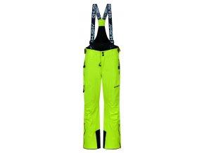 Husky Dětské lyžařské kalhoty  Zeus Kids zelenožlutá
