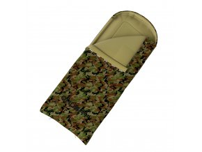 Husky Spacák dekový   Gizmo Army -5°C khaki  spací pytel