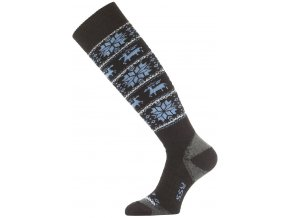 Lasting SSW 905 černá merino ponožky lyžařské  ponožky