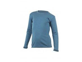 Lasting SNOPY 5454 modrá vlněná merino mikina