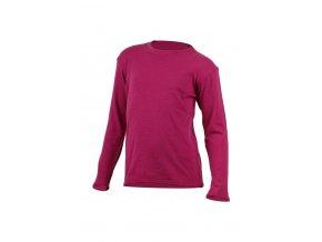 Lasting SNOPY 4545 růžová vlněná merino mikina