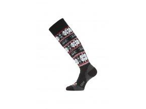 Lasting SSW 900 černá merino ponožky lyžařské  ponožky