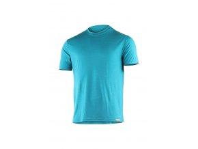 Lasting CHUAN 5858 modré pánské vlněné merino triko