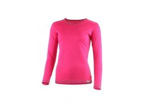 Lasting MATA 4748 růžové merino triko
