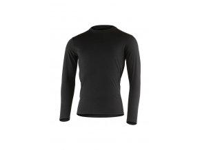 Lasting LOGAN 9090 černé vlněné merino triko