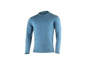 Lasting LOGAN 5454 modré vlněné merino triko