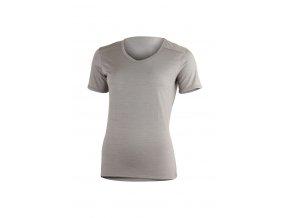 Lasting LINDA 8282 šedé vlněné merino triko
