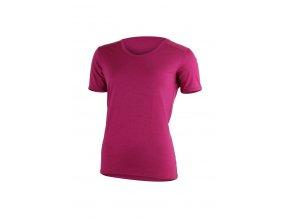Lasting LINDA 4545 růžové vlněné merino triko