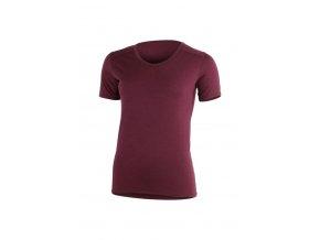 Lasting LINDA 3838 vínové vlněné merino triko