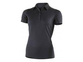 Lasting ERIKA 9898 černé vlněné merino triko