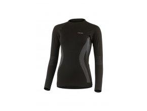 Lasting MAXA 9080 černá bezešvé triko