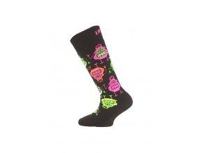 Lasting SJE 946 černá dětské ponožky  ponožky