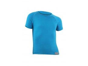Lasting HARY 5151 modré vlněné merino triko