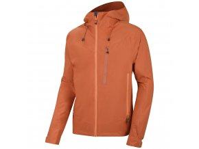 Husky Pánská hardshellová bunda   Noster M tm. oranžová