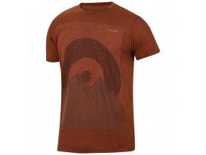 Husky Pánské triko   Tingl M hnědooranžová