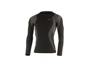 Lasting MAXI 9080 černé bezešvé triko