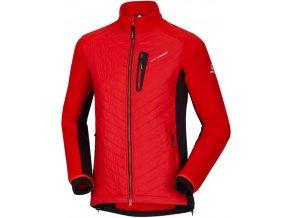 Northfinder pánská bunda Polartec Alpha Direct ® AXEL Red