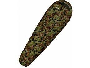 Husky Spacák Outdoor  Junior Army -10°C khaki  spací pytel