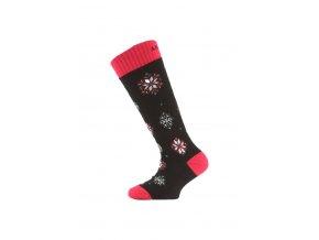 Lasting SJA 903 černá dětské ponožky  ponožky