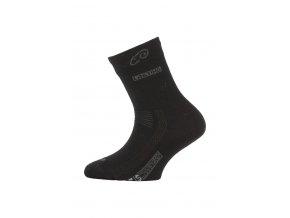 Lasting TJS 900 černá merino ponožka junior slabší  ponožky