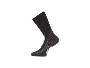 Lasting SCA 907 černé lyžařské ponožky  ponožky