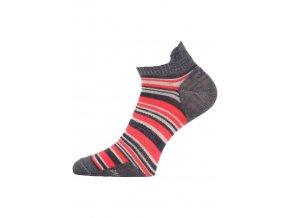 Lasting WPS 503 červené vlněné ponožky  ponožky