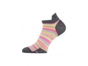 Lasting WWS 504 růžové vlněné ponožky  ponožky