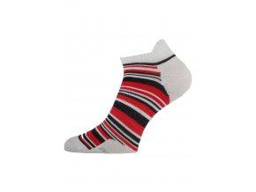 Lasting WCS 035 červené vlněné ponožky  ponožky