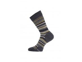 Lasting WPL 505 modré vlněné ponožky  ponožky
