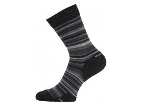 Lasting  WPL 805 šedé vlněné ponožky