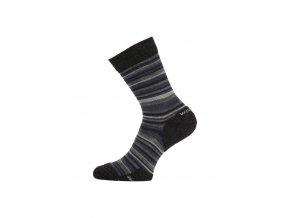 Lasting WPL 805 šedé vlněné ponožky  ponožky