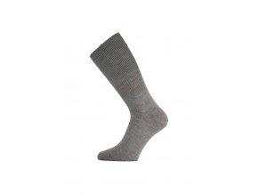 Lasting WRM 800 šedé vlněné ponožky  ponožky