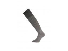 Lasting WRL 800 šedé vlněné ponožky  ponožky