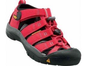 Keen Newport H2 K ribbon red/gargoyle  dětská obuv