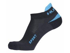 Husky Ponožky   Sport antracit/tyrkys  ponožky
