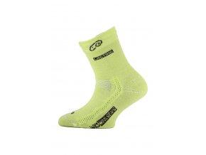 Lasting dětské merino ponožky TJS žluté  ponožky