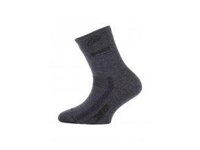 Lasting dětské merino ponožky TJS modré  ponožky