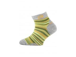 Lasting dětské merino ponožky TJP žluté  ponožky