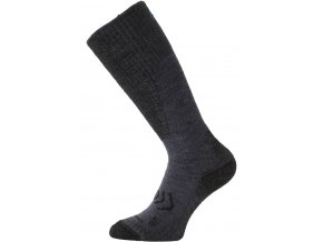Lasting merino lyžařské podkolenky SKM modré  ponožky