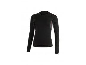 Lasting dámské merino triko LOLITA černé