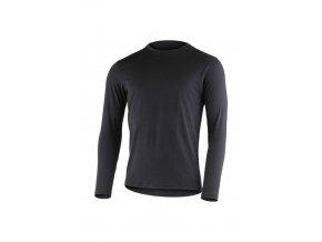 Lasting pánské merino triko JERRY černé