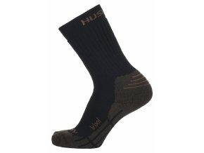 Husky Ponožky   All Wool hnědá  ponožky