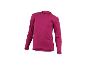 Lasting dětské merino triko SOTY růžové