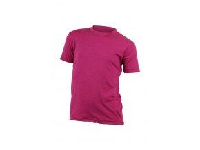 Lasting dětské merino triko SIRI růžové