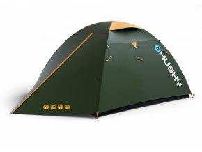 Husky Stan Outdoor Bird 3 classic zelená  stan + cyklosvětlo čelovka power LED