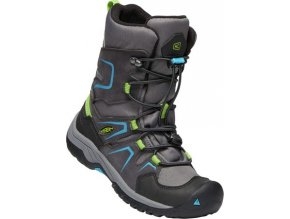 Keen Levo Winter WP JR - magnet/blue jewel