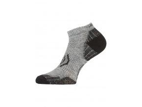 Lasting merino ponožky WTS šedé  ponožky